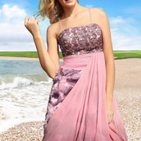 Pink Bridesmaid dress Wedding dress Cocktail dress Party Dress Satin | mydresses - Wedding on ArtFire