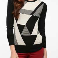 Coincidence & Chance Jane Intarsia Knit Pullover Sweater