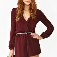 Prudence Wrap Romper