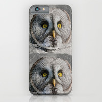 MOON OWL iPhone & iPod Case by Catspaws