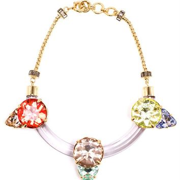 Debbie Swarovski and Resin Necklace - VALENTINA BRUGNATELLI