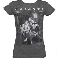Ladies Friends Vintage T-Shirt : TruffleShuffle.com
