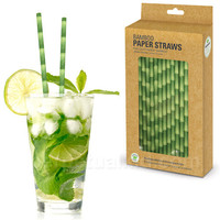 BAMBOO TIKI PAPER STRAWS