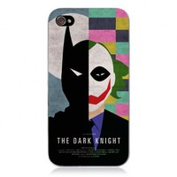 Movie Theme Collection IPhone 4/4S Case -The Dark Knight by Hallomall
