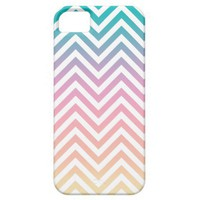 Until Sunset Chevron White iPhone 5 Cover from Zazzle.com