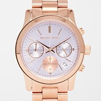 Michael Kors MK6163 Rose Gold Runway Watch