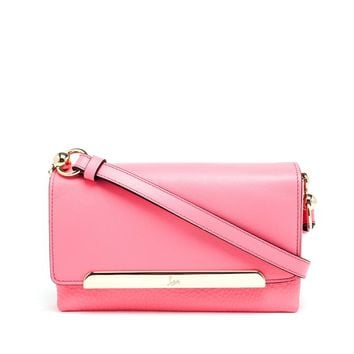 Leather Rougissime Shoulder Bag - CHRISTIAN LOUBOUTIN