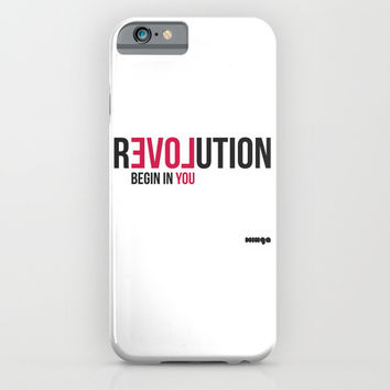 Revolution iPhone & iPod Case by Estudio Minga | Www.estudiominga.com