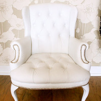 Antique Chesterfield Chair by amd01 on Etsy