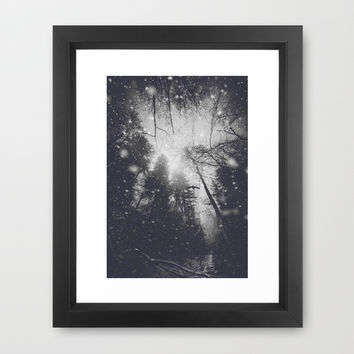 Will you let me pass II Framed Art Print by HappyMelvin