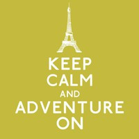 Keep Calm and Adventure On 8 x 10 Print by KeepCalmArsenal on Etsy