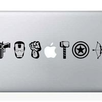 The Avengers Laptop Decal