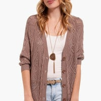 What's the Pointelle Cardigan $30