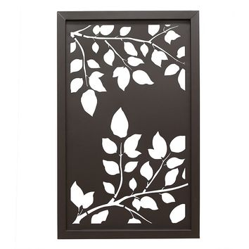 Stratton Home Leaves Cut Out Panel Wall From Kohl 39 S