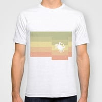 Out At Sea Series - Sideways and Crabby T-shirt by Bright ▲ Enough | Society6
