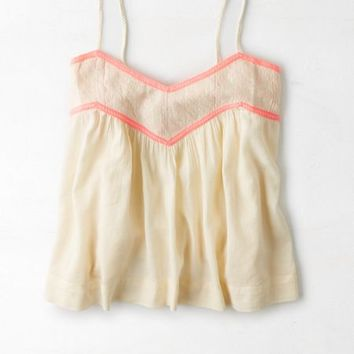 AEO Women's Strappy Cami (Pink)