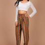 Tribeca High Waist Pants | Trendy Clothes at Pink Ice