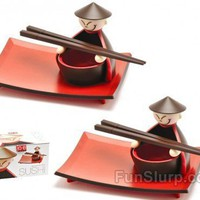Sushi Service for Two | Father's Day Gifts | FunSlurp.com