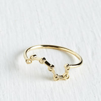 ModCloth Quirky Ursa Major League Ring