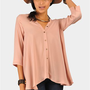 Flow With Ya Top - Baby Pink at Necessary Clothing