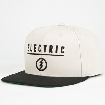 Electric New Corp Mens Snapback Hat Grey One Size For Men 25165011501