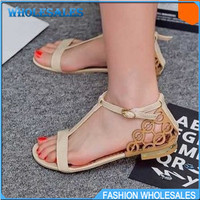 Aliexpress.com : Buy Big Size 31 43 Fashion Women Sandals New Summer Flat Heel Casual Shoes Sexy T Straps Gladiator Flats Hot sale Sweets Cute Red from Reliable sandals wings suppliers on CHINA-FASHION WHOSALES STORE