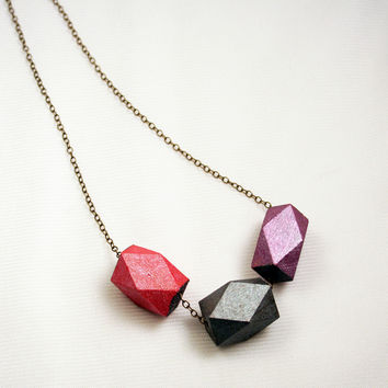Eco-friendly Beads Chain Necklace