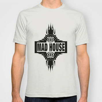 MAD HOUSE T-shirt by Robleedesigns