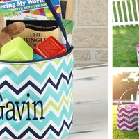 Personalized Embroidered Easter Tote Sale