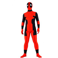 Red and Black Lycra Spandex Fancy Dress for Halloween Zentai Suit Full Body costume [TWL1112190441] - 24.19 : Zentai, Sexy Lingerie, Zentai Suit, Chemise