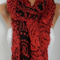 Carmen Scarf Winter Accessories Mother's Day Gift Cowl Scarf Shawl Cotton Scarf Gift Ideas For Her Women Fashion Accessories Women Scarves