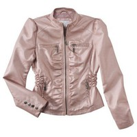 Xhilaration® Puff Sleeve Moto Jacket - Assorted Colors