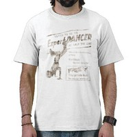 Vintage Break Dancer T-shirt from Zazzle.com