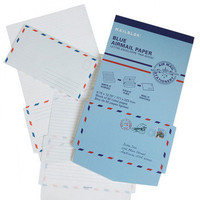 Out of Thin Air-mail Stationery Set | Mod Retro Vintage Stationery | ModCloth.com