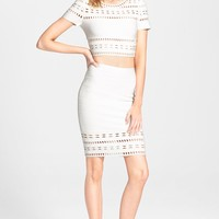 Herve Leger Top & Skirt
