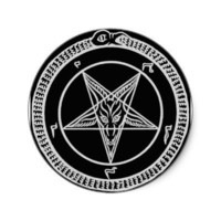 Sigil of Baphomet sticker from Zazzle.com