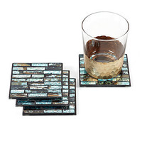 Z Gallerie - Agean Coasters - Set of 4