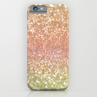 Champagne Shimmer iPhone & iPod Case by Lisa Argyropoulos