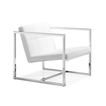Angles Chair in White