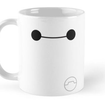 Big Hero 6 Six - Simple Baymax Smile Mug