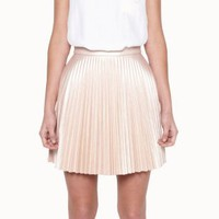 Divinyl Pleat Mini Skirt - LOVER®