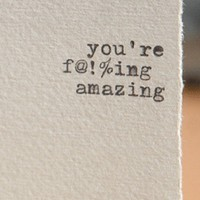 fing amazing by afavorite on Etsy