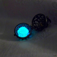 Kaged Kryptonite Mysterious Glowing Sphere in by Clover13 on Etsy