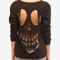 Truly Madly Deeply Cutout Sweatshirt