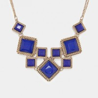 Lenard Necklace in Cobalt - ShopSosie.com