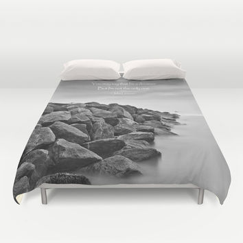 A Dreamer Duvet Cover by Alice Gosling