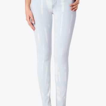 Nico Mid-Rise Super Skinny - Beach Colony | Hudson Jeans