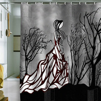 DENY Designs Home Accessories | Amy Smith Lost In The Woods Shower Curtain