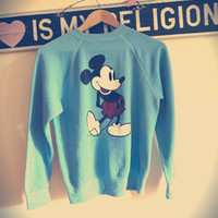 London Loves LA — Mickey Mouse Baby Blues Sweatshirt