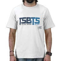 TSBTS Blue T-shirts from Zazzle.com